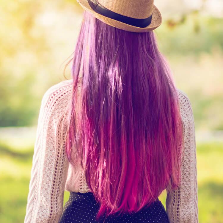 spesso Riflessante viola C7: sfoggia capelli color prugna | Hairmed RI13