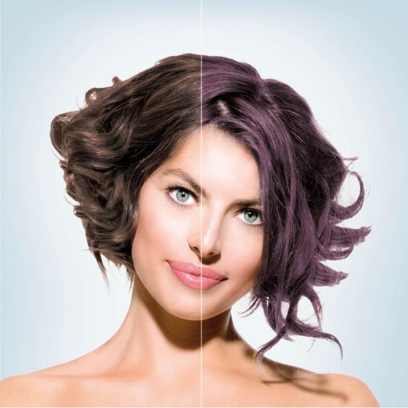 Riflessante Viola C22 Sfoggia Capelli Color Prugna Hairmed