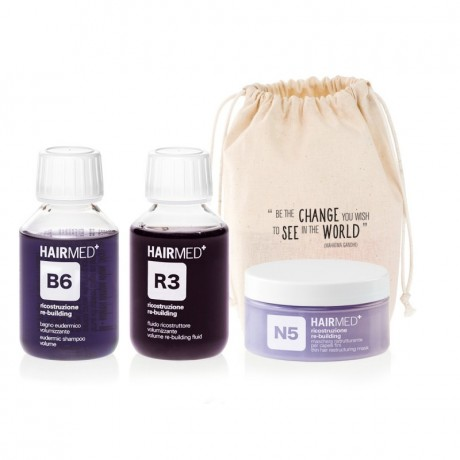 TREATMENT TRAVEL KIT FOR VERY DAMAGED FINE AND FRAGILE HAIR