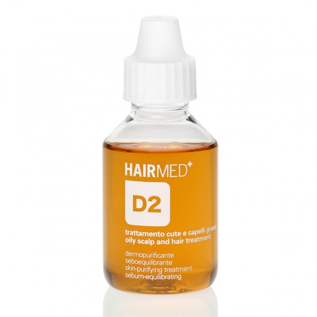 TREATMENT FOR GREASY HAIR D2 - SKIN PURIFYING TREATMENT SEBUM EQUILIBRATING